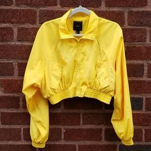 EUC Forever 21 Sz S Cropped Rain Jacket